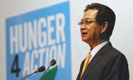 Vietnamese prime minister Nguyen Tan Dun