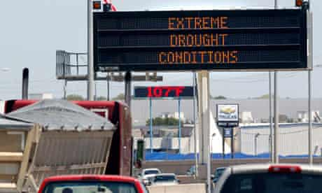 extreme drought condidtions