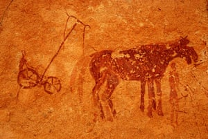 Ten best: Rock paintings in Tassili Maghidet (Maghridet or Libyc Tassili)