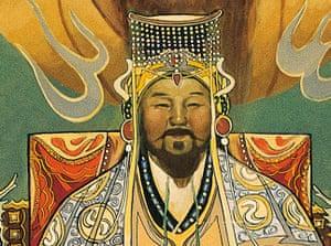 Ten best: Mural with Genghis Khan, Temujin