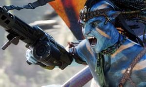 Avatar: Cameron's space cowboy blockbuster.