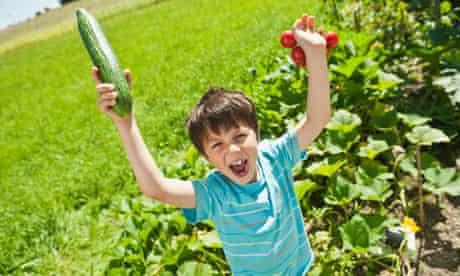 vegetable boy