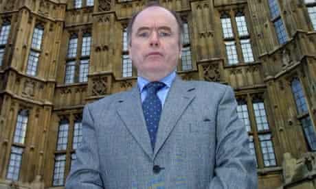 Jack Dromey outside Parliament