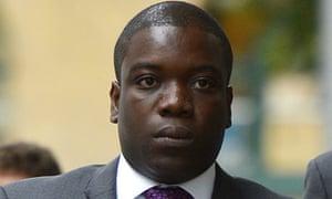 Kweku Adoboli arrives at Southwark crown court