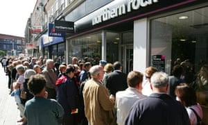 Northern Rock Seeks Emergency Help From Government