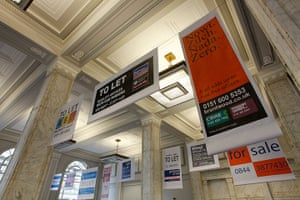 Liverpool Biennial: Liverpool to Let by Superflex in The Cunard Building