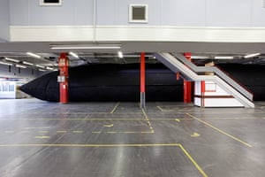 Liverpool Biennial: Vilnius Black Pillow by Audrius Bucas & Valdas Ozarinskas
