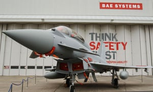 Eurofighter Typhoon at BAE Systems
