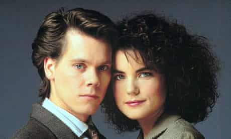 Kevin Bacon and Elizabeth McGovern