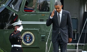 Obama Returns From Transfer Of Remains