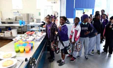 School breakfast club Kingsmead Hackney London
