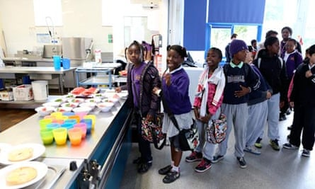 School breakfast club Kingsmead Hackney London