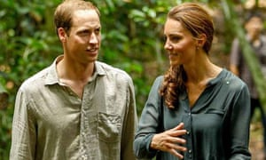 Prince William and Kate, the Duchess of Cambridge, on a tour in Malaysia