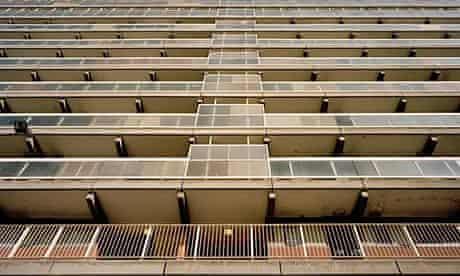 Social housing tower block