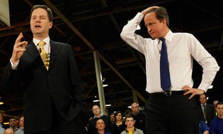 Prime Minister David Cameron And Deputy Prime Minister Nick Clegg Visit Essex