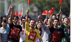 beijing protesters