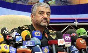 Commander of Iran's Revolutionary Guards, General Mohammad Ali Jafari