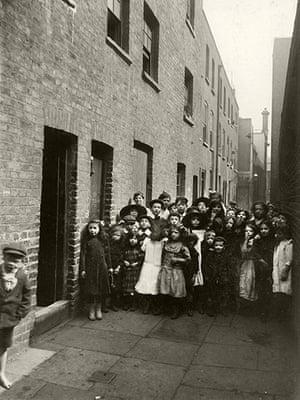 Spitalfields: Looking down Frying Pan Alley towards Sandys Row