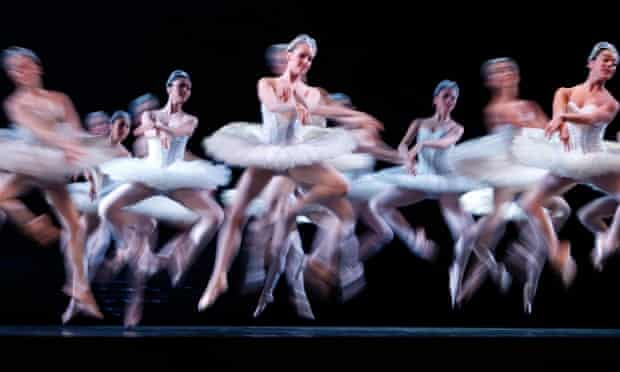 In a swirl of movement, dancers from the Australian Ballet perform a new traditional production of Swan Lake in Melbourne. The new production celebrate's the ballet company's 50th birthday.