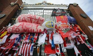 Hillsborough tributes at Anfield