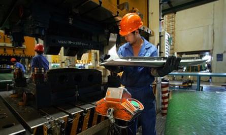 China auto parts factory