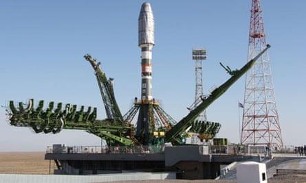 Metop-B launch site in Baikonur, Kazakhstan