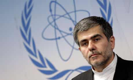 Iran's Abbasi-Davani attends a news conference during the 56th IAEA General Conference in Vienna