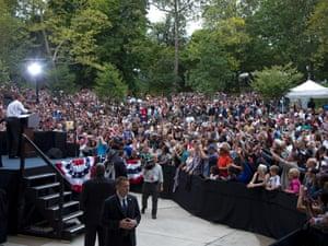 Barack Obama in Cincinnati
