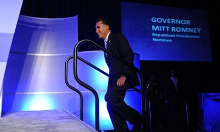 Mitt Romney at the US Hispanic Chamber of Commerce