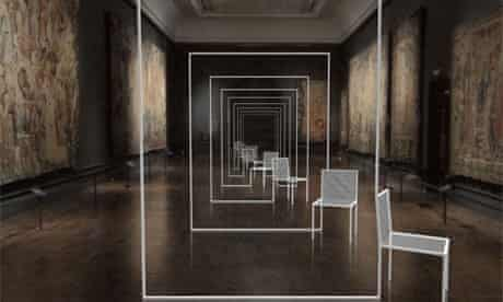 Mimicry Chairs by Nendo at the V&A: London Design festival
