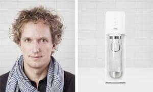 Yves Béhar, designer, and his SodaStream Source design, London Design festival
