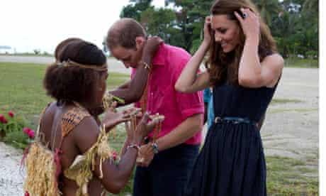 The Duke And Duchess Of Cambridge In Solomon Islands