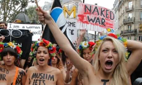 We are Femen, the naked shock troops of feminism | Feminism | The Guardian