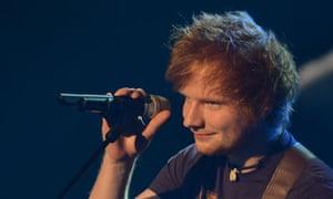 Ed Sheeran at the German Radio Awards, Hamburg