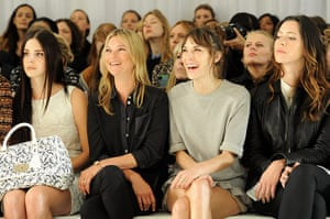 London Fashion day 5: Mulberry Spring/Summer 2013 - London Fashion Week - Front Row