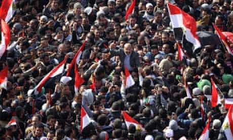 Egyptians Celebrate The First Anniversary Of The Revolution In Tahrir Square