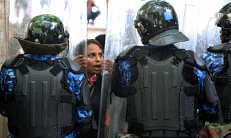 Maldives police coup d'etat