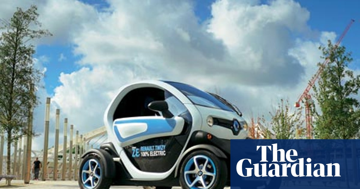 On The Road Renault Twizy Motoring The Guardian