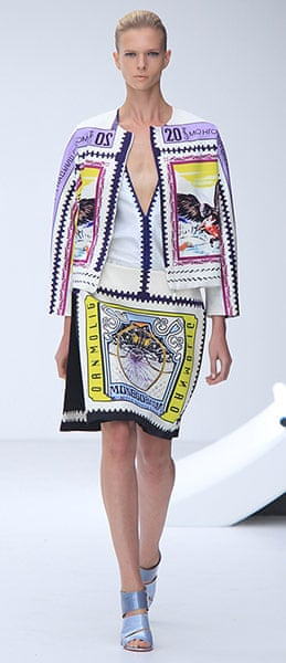 LFW gallery: London fashion week 2012: Mary Katrantzou