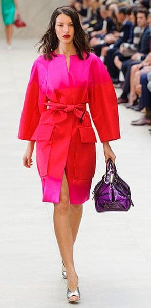 LFW gallery: London fashion week 2012: Burberry