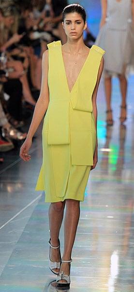 LFW gallery: London fashion week 2012: Christopher Kane