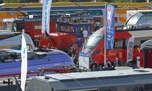 Innotrans convention in Berlin