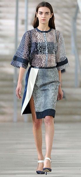 LFW gallery: London fashion week 2012: Preen