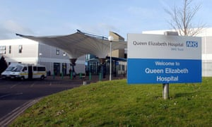 Queen Elizabeth hospital in Woolwich