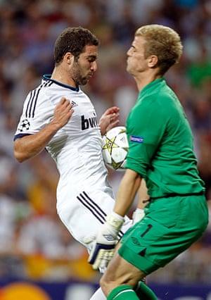 sport: Gonzalo Higuain, Joe Hart