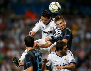 sport: Real Madrid's Cristiano Ronaldo