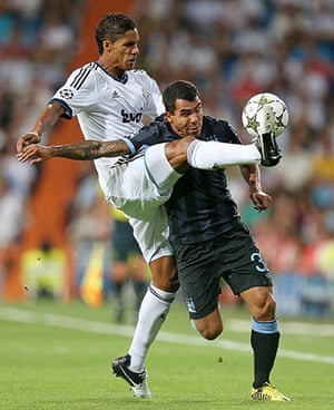 sport: Real Madrid v Manchester City - UEFA Champions League Group D