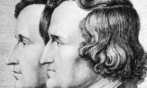 Jakob and Wilhelm Grimm, circa 1830