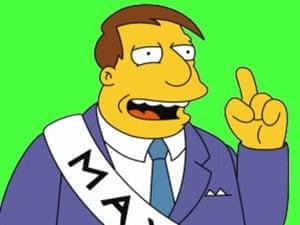Ten best: Mayor Joe Quimby