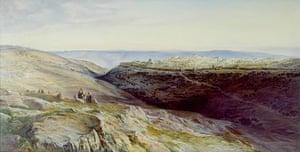 Edward Lear: Jerusalem by Edward Lear
